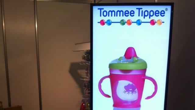 Digital Signage – Tommee Tippee Event