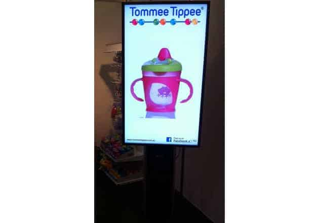 Advertise Me - Digital Signage Tommee Tippee Event