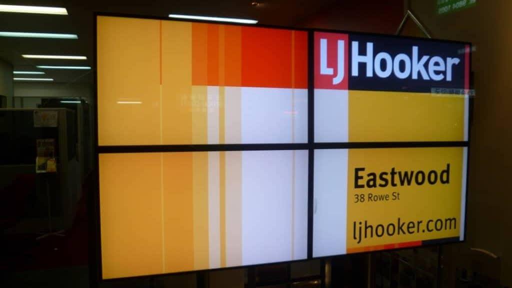 Real Estate Digital Signage LJ Hooker e1565682542855