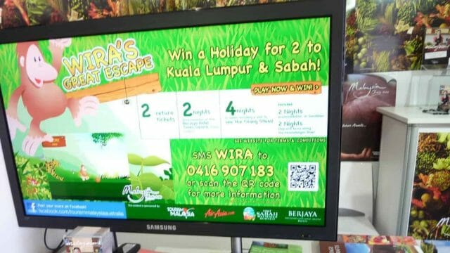 Digital Signage – Tourism Malaysia Events Promotion Boards