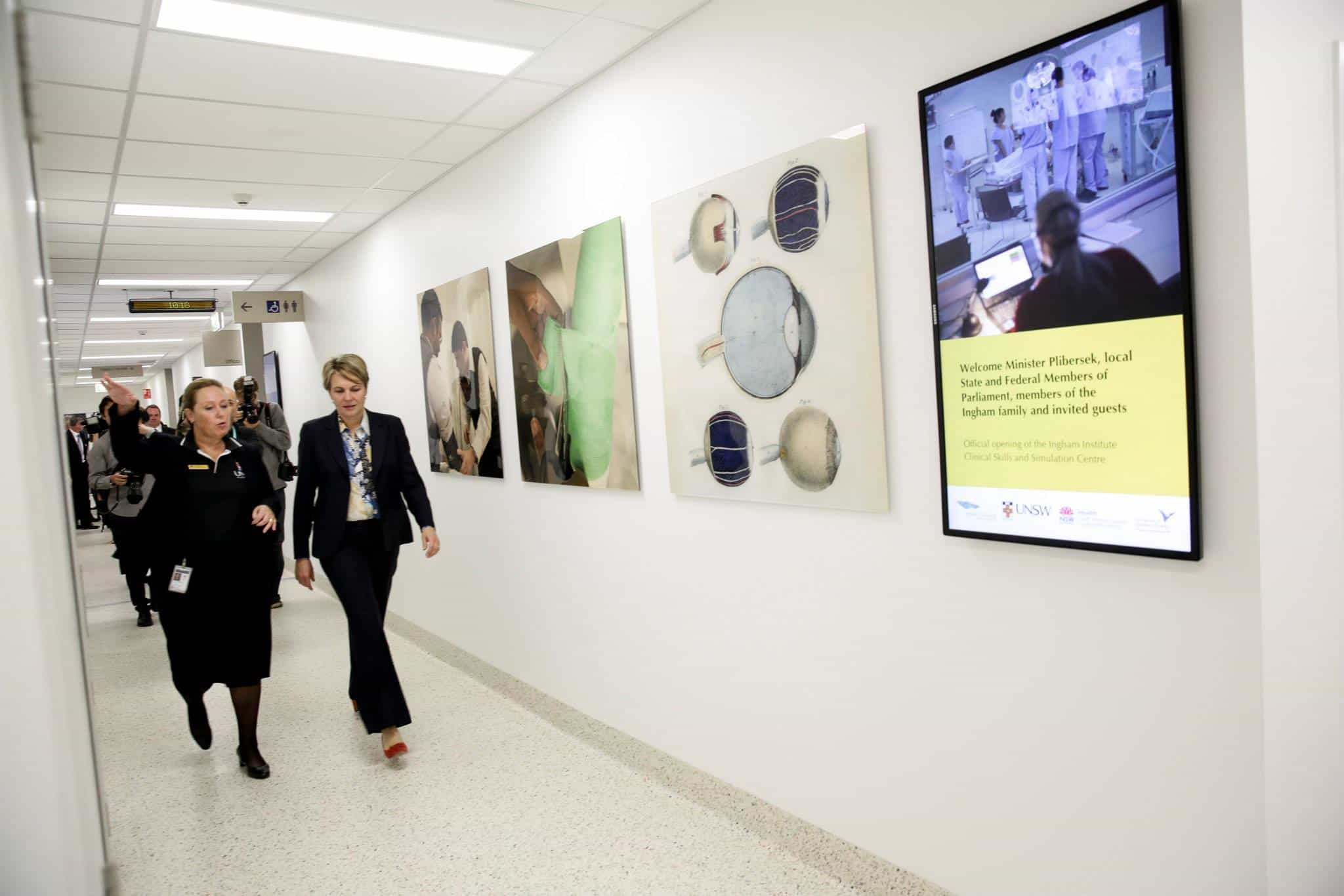 Ingham Institute Clinical Skills and Simulation opening
