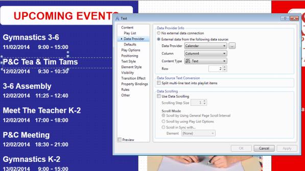 sherwood sentral integration designer - text