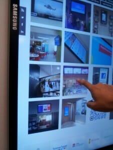 Digital Signage Touchscreen - Samsung