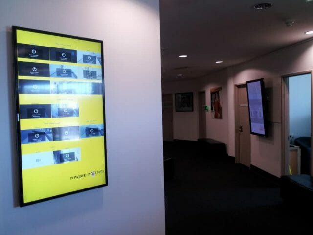 Video Conference Monitoring and Digital Signage