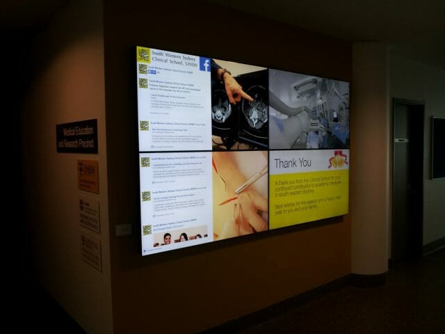 UNSW Video Wall