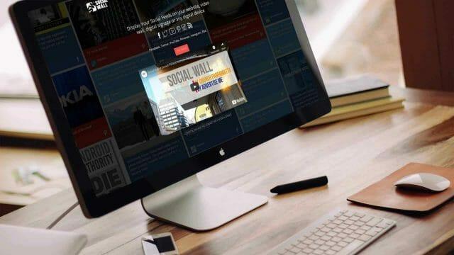 Website Development – Social Wall Website