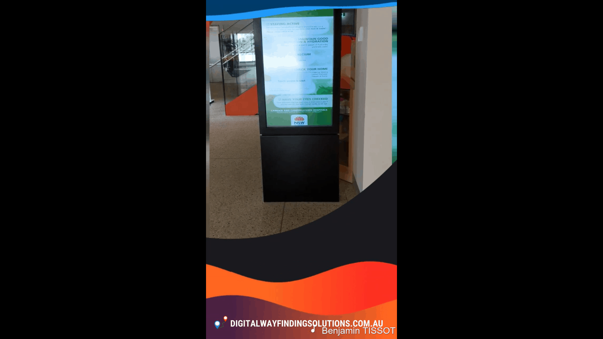 Advertise Me Digital Wayfinding Solutions for Hospitals