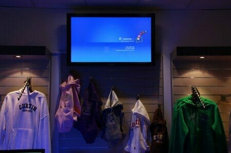 Digital Signage Solutions - Services - Retail Curtin