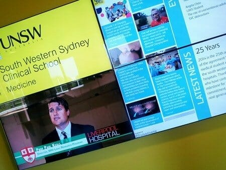 Video Wall Projections - Services - University UNSW
