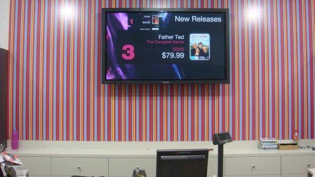 Digital Signage – Australian Broadcasting Corporation Shops