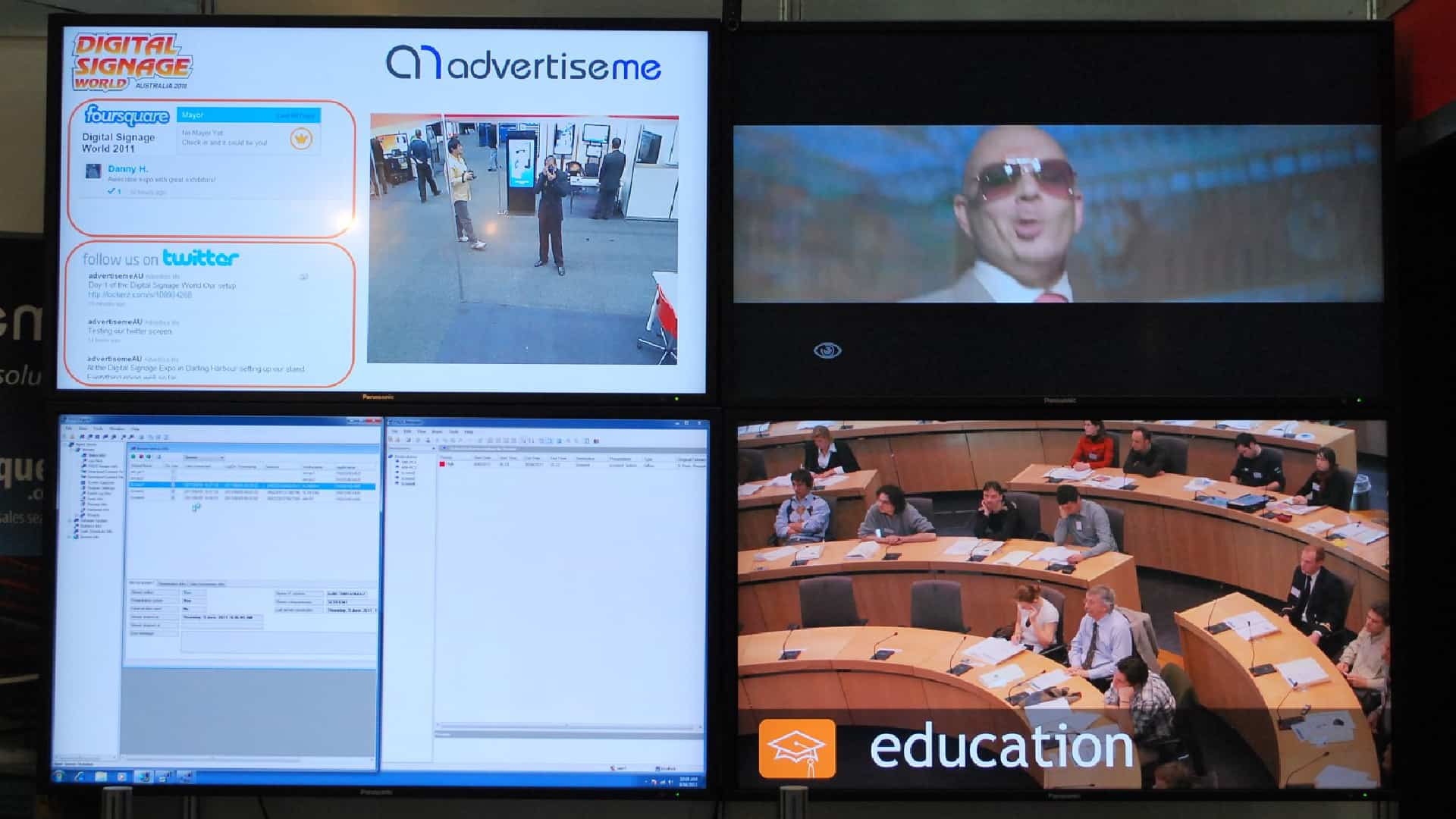 Video Wall – Digital Signage World Expo