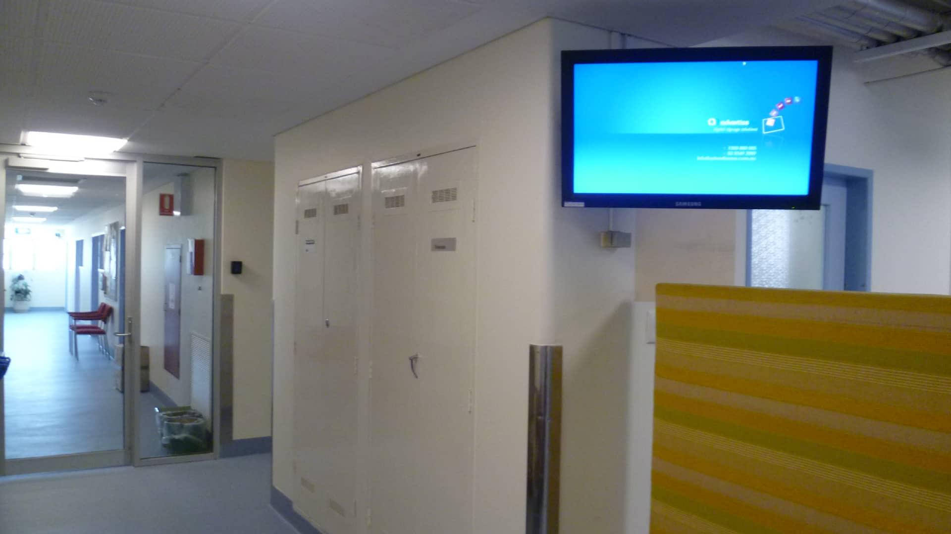 Digital Signage – Queen Elizabeth II Medical Centre Trust Welcome Boards