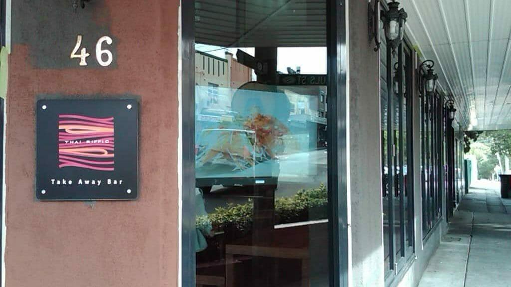 Digital Signage – Thai Riffic Menu Board