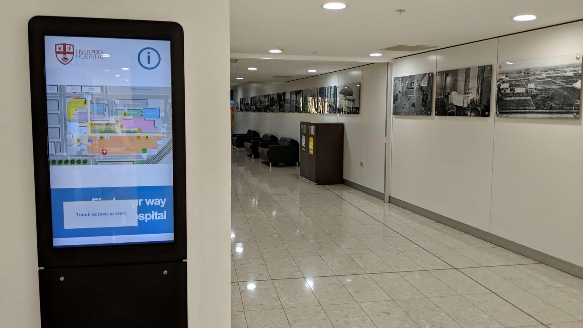 Advertise Me Digital Wayfinding Liverpool Hospital 8