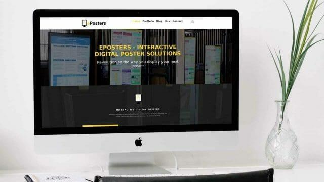 Website Development – ePosters Website