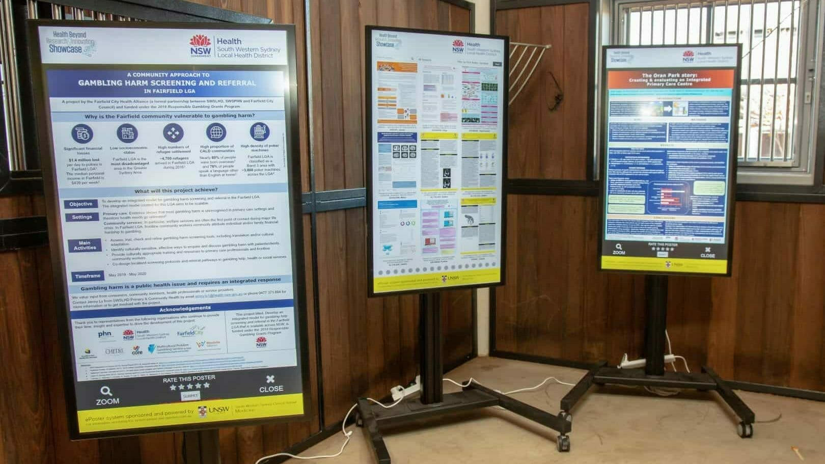 Advertise Me ePosters Interactive Digital Posters UNSW Health Beyond Research Innovation Showcase 2019 2 e1565520054368