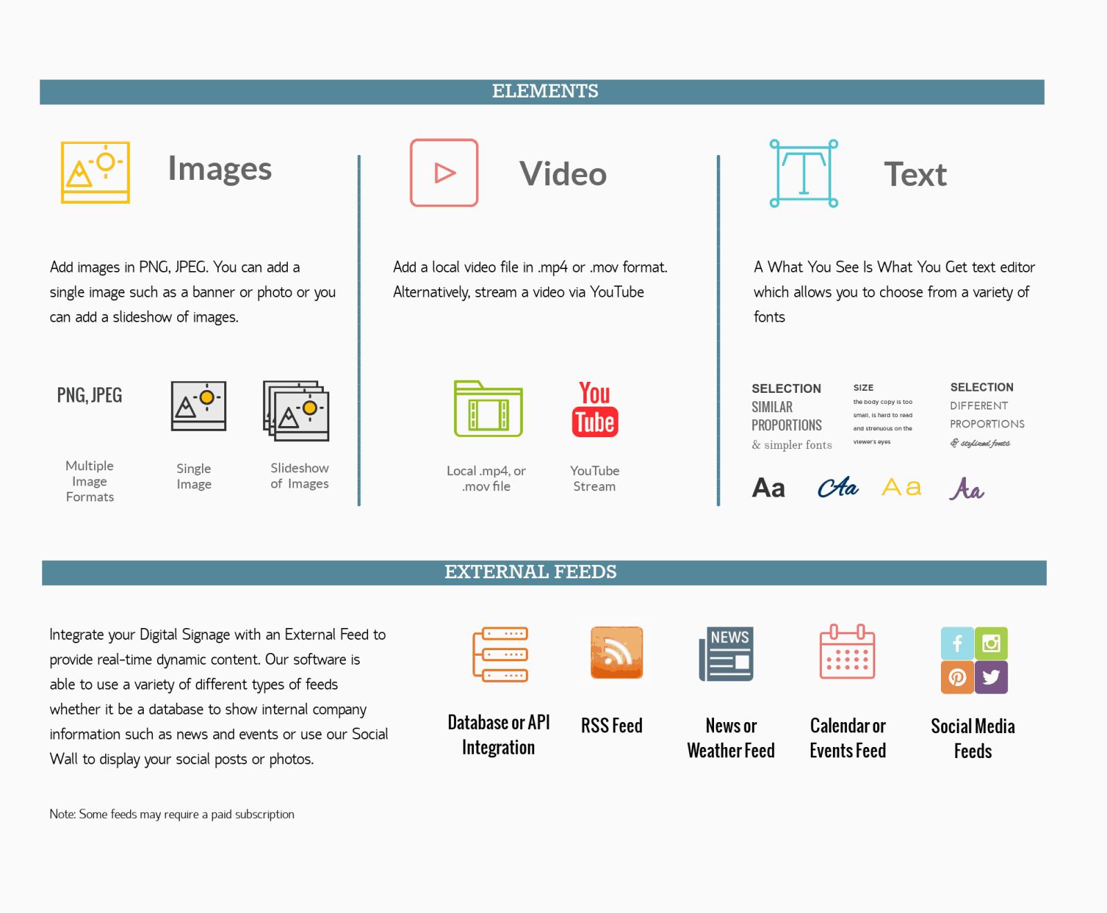 Advertise Me Digital Signage Software overview 3