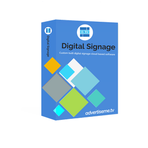 Advertise Me Digital Signage Software