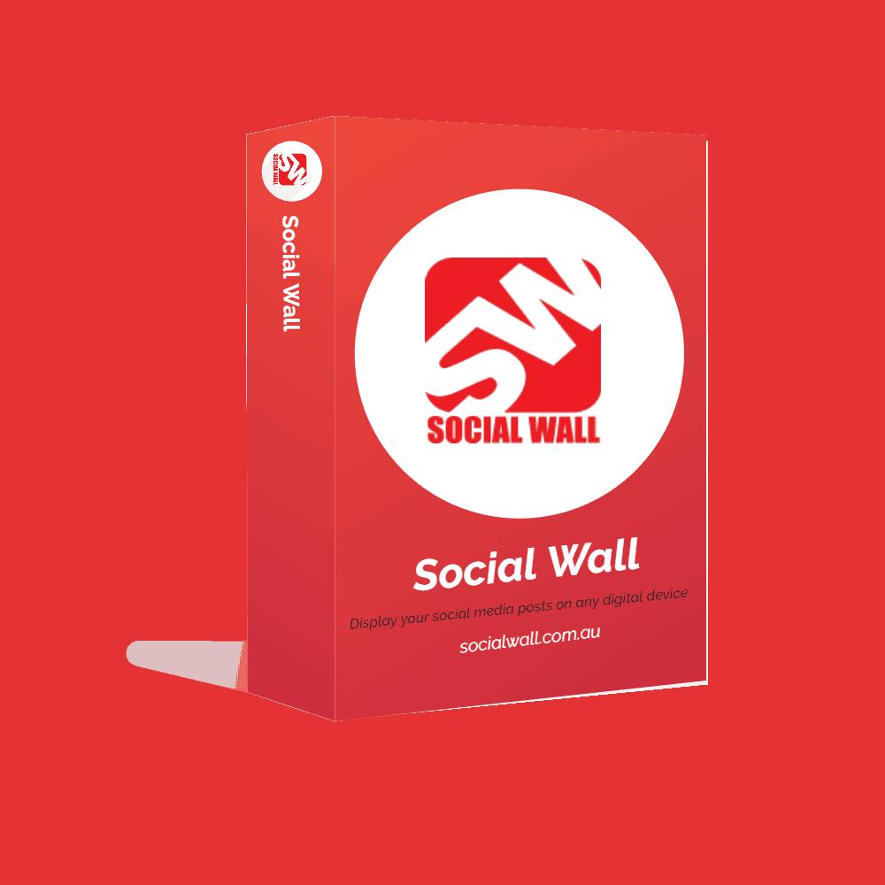 Advertise Me Social Wall
