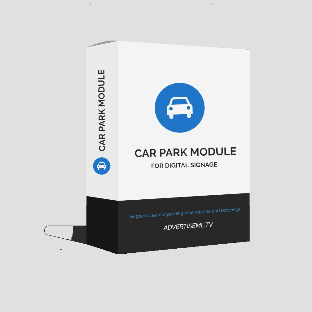 Advertise Me Digital Signage Car Park Module Cover