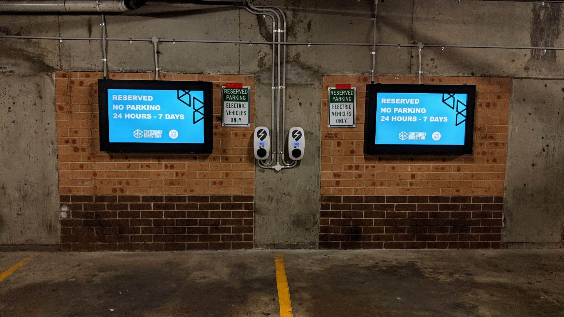 Advertise Me Digital Signage Solution Car park module City Canterbury Bankstown Council 3