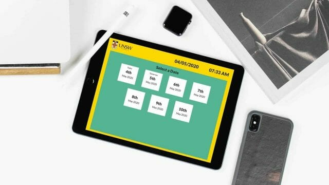 Room Booking – UNSW Custom Web App
