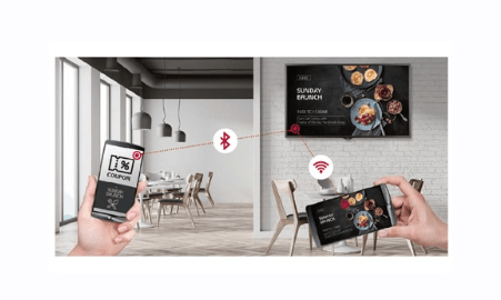Advertise Me LG FULL HD COMMERCIAL MONITOR DISPLAY SM5KE content sharing