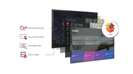 Advertise Me LG FULL HD COMMERCIAL MONITOR DISPLAY SM5KE simple setup and customization