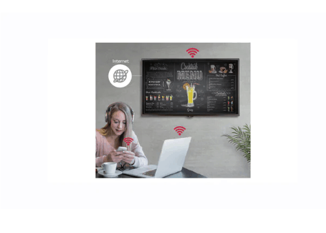 Advertise Me LG FULL HD COMMERCIAL MONITOR DISPLAY SM5KE wireless access point